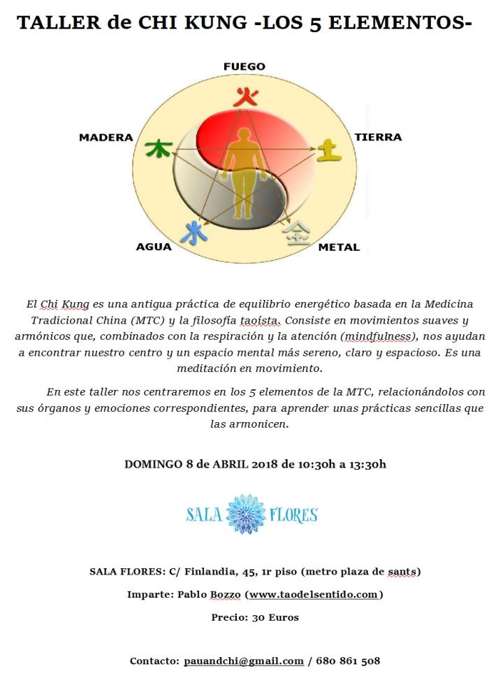 chi kung y los 5 elementos